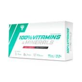 100% Vitaminas Y Minerais 60 Caps da Trec Nutrition