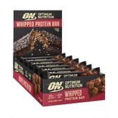 Whipped Protein Bar 60g 10 Barritas de Optimum Nutrition