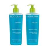 Sebium Gel Nettoyant Purifiant 500 ml 2 Unités de Bioderma