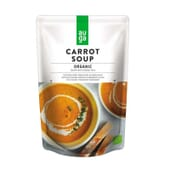 Sopa De Cenoura Cremosa Biológica 400 ml da Auga