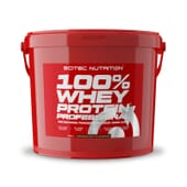 100% Whey Protein Professional 5000g de Scitec