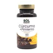 Cúrcuma + Pimienta Negra Bio 60 Caps de Sol Natural