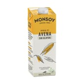 Bebida De Avena Sin Gluten Bio 1000 ml de Monsoy