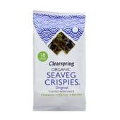 Snack de Algas Nori Tostadas Orgánica 4g de Clearspring