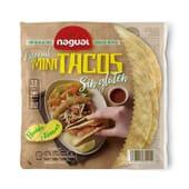 Especial Mini Tacos Tortitas De Milho Sem Glúten 180g da Nagual