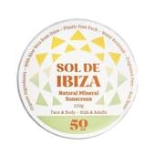 Protetor Solar Natural Cara E Corpo SPF50 100g da Sol De Ibiza