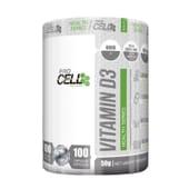 Vitamin D3 100 Caps de Procell