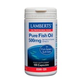 Aceite De Pescado Puro 500 mg 120 Caps de Lamberts