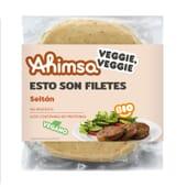 Filetes Seitan Vegano Bio 250g da Ahimsa