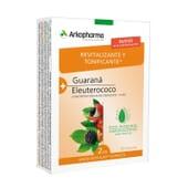 Revitalisant et Tonifiant Guarana + Eleuthérocoque 40 Gélules de Arkopharma